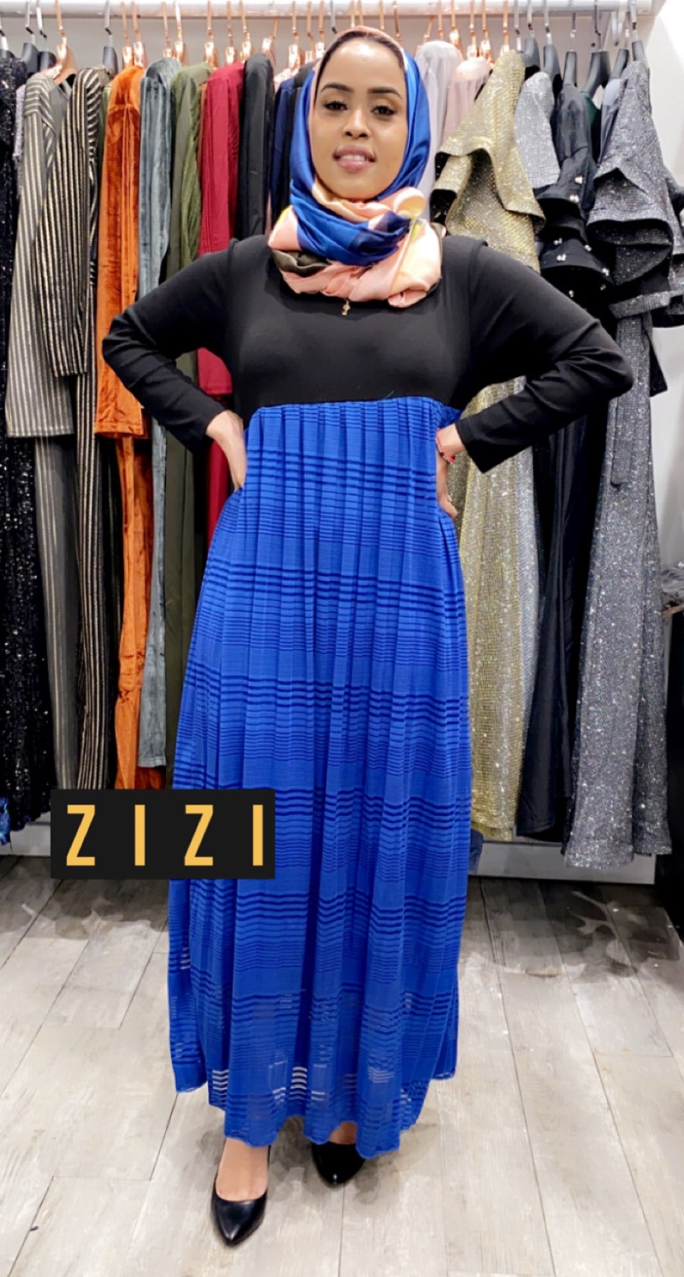 Nasirui Slant Dress - ZIZI Boutique
