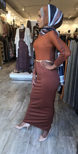 Braided Top Evening Dress - ZIZI Boutique
