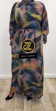 Chiffon Print Dress (Straight) - ZIZI Boutique