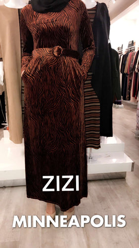 Aasiya Velvet Dress - ZIZI Boutique