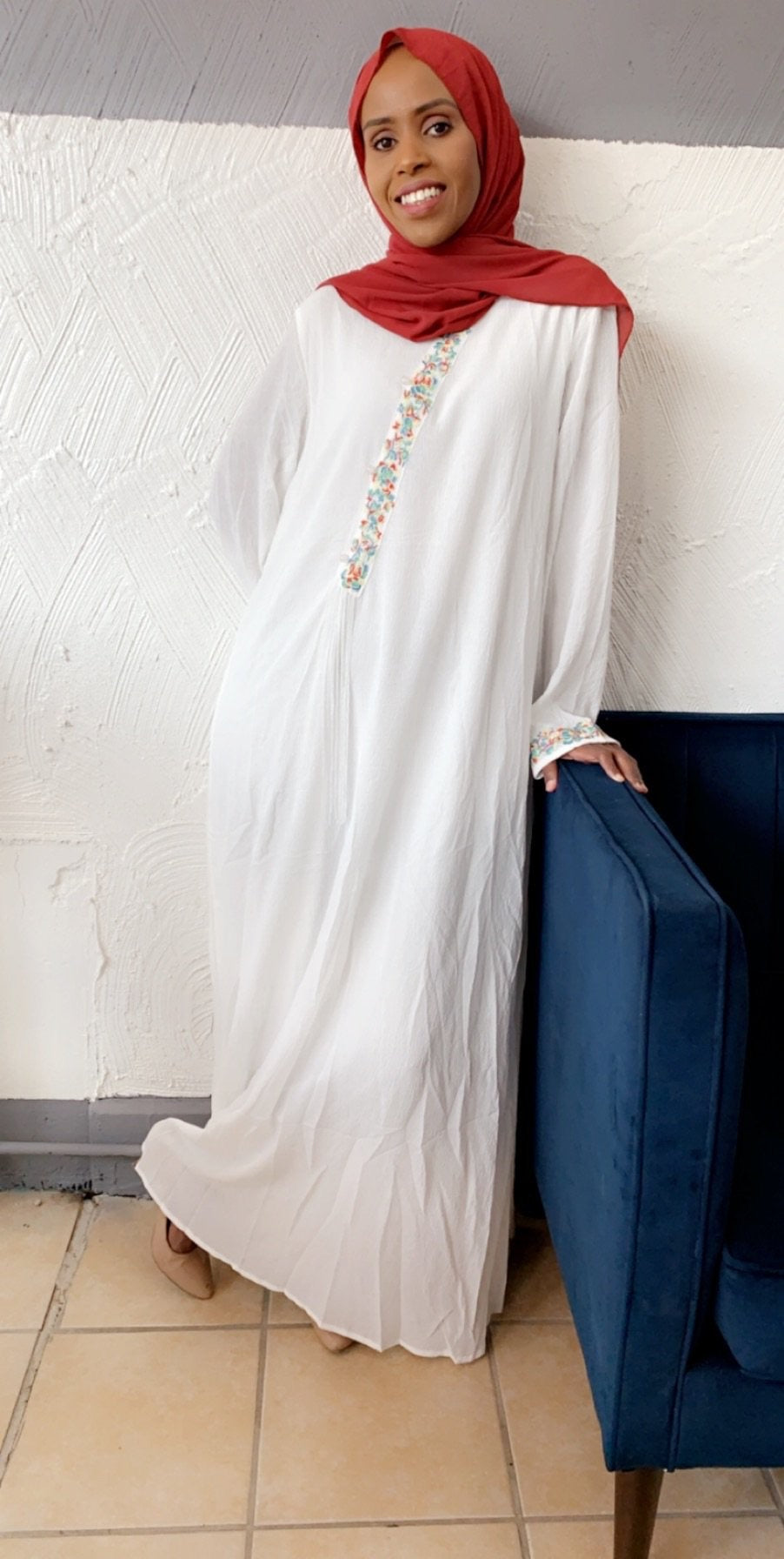 Linen Design Dress - ZIZI Boutique
