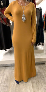 Cotton Maxi Dress (B38)