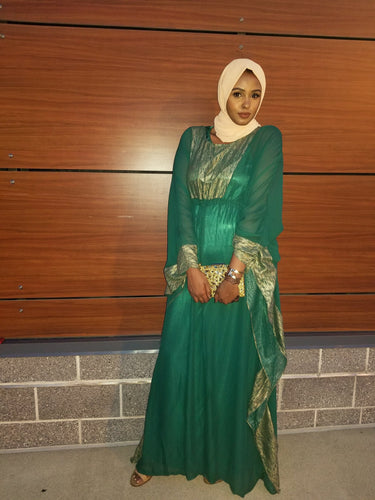 Yani Dress - Butterfly Style - Green