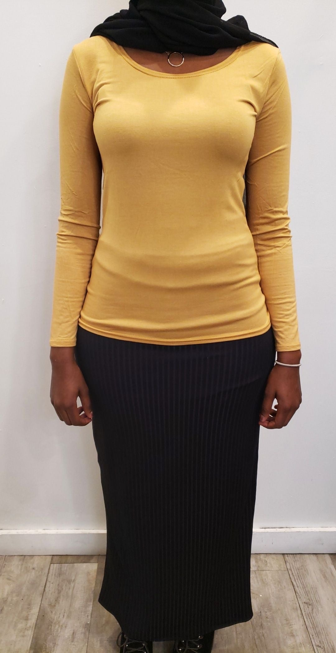 Plain Top - Canary Yellow - ZIZI Boutique