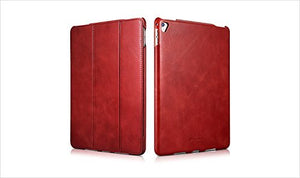 "iPad Pro 9.7"" (2016) Case, Vintage Series Genuine (real) Leather (red)"