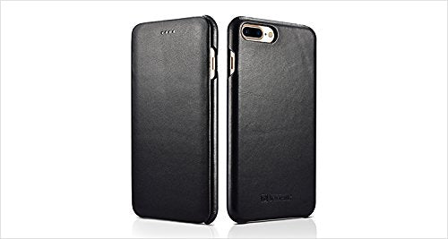 iPhone 7 Plus , iPhone 8 Plus Genuine (Real) Leather Cover. Slimline protection for your phone