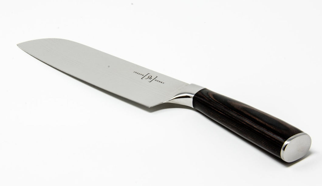 Mira-Ko Vegetable Prep Knife, Santuko Style. Mirror Polished Stainless Steel