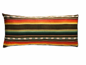 Sundance Serape Long Rectangular Pillow - Brown