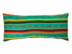 Sundance Serape Long Rectangular Pillow - Teal