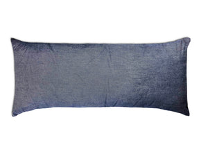 Saltillo Serape Long Rectangular Pillow -Grey