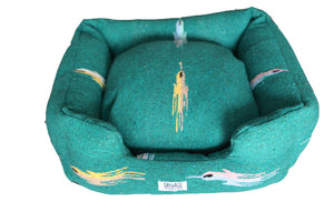 Thunderbird Bumper Bed-Teal