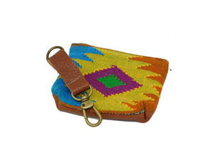 Oaxaca sunburst pouch - yellow