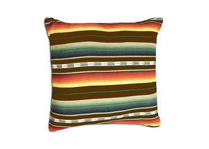 Sundance Serape Home Pillow - Brown