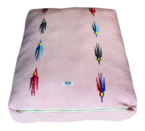 Thunderbird Rectangulo Bed- Pink