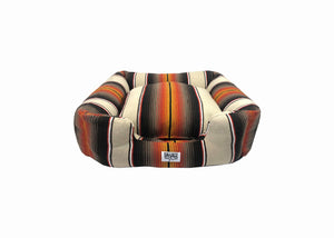 Saltillo Serape Bumper Bed - Brown