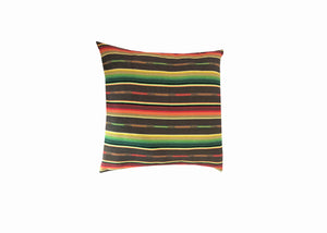 Sundance Serape Square Home Pillow- Chocolate Fiesta
