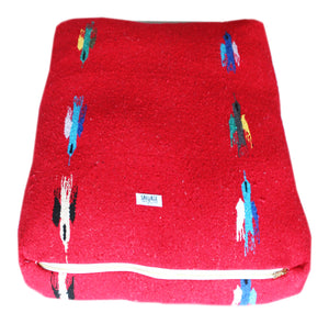 Thunderbird Rectangulo Bed- Red