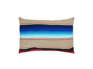 Saltillo Serape Tan Rectangular Pillow