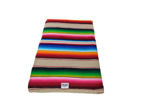 Saltillo Serape Rollup Bed-Tan