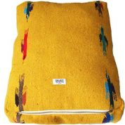 Thunderbird Rectangulo Bed- Maize/gold