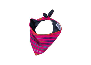 Striped Bandana-Pink