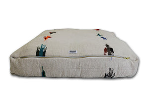 Thunderbird Rectangulo Bed- White
