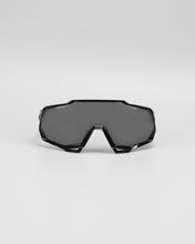 100% Speedtrap Polished Black Graphic - Black Mirror Lens