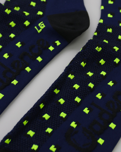 Cadence Ascent Dark Blue Socks