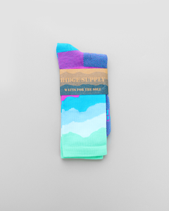 Ridge Supply Aireator RS Skyline Mist Socks