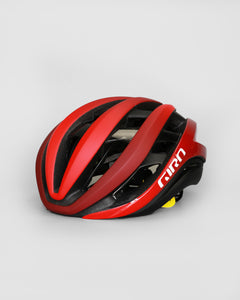 Giro Aether Mips Matt Red/Dark Red Fade Helmet