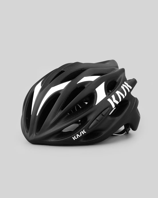 Kask Mojito Matt Black and White Helmet