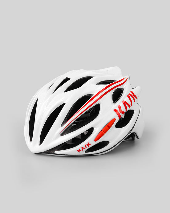 Kask Mojito 16A White Red Helmet