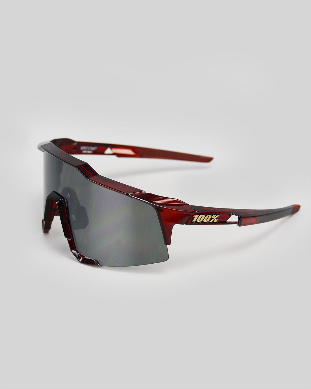 100% Speedcraft Cherry Palace - Black Mirror Lens