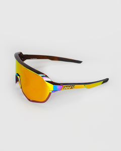 100% S2 Peter Sagan Chromium Red HiPER Red Multilater Mirror Lens