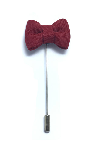 Lapel Pins - Barn Red Bow Tie