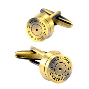 Cufflinks - Shotgun Shell