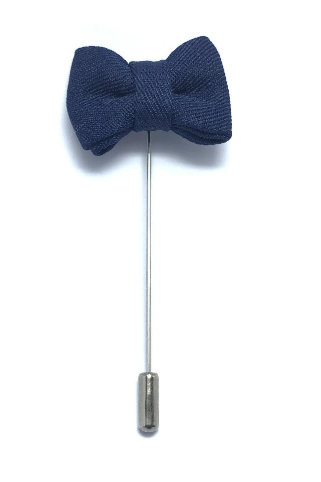 Lapel Pins - Navy blue bow tie