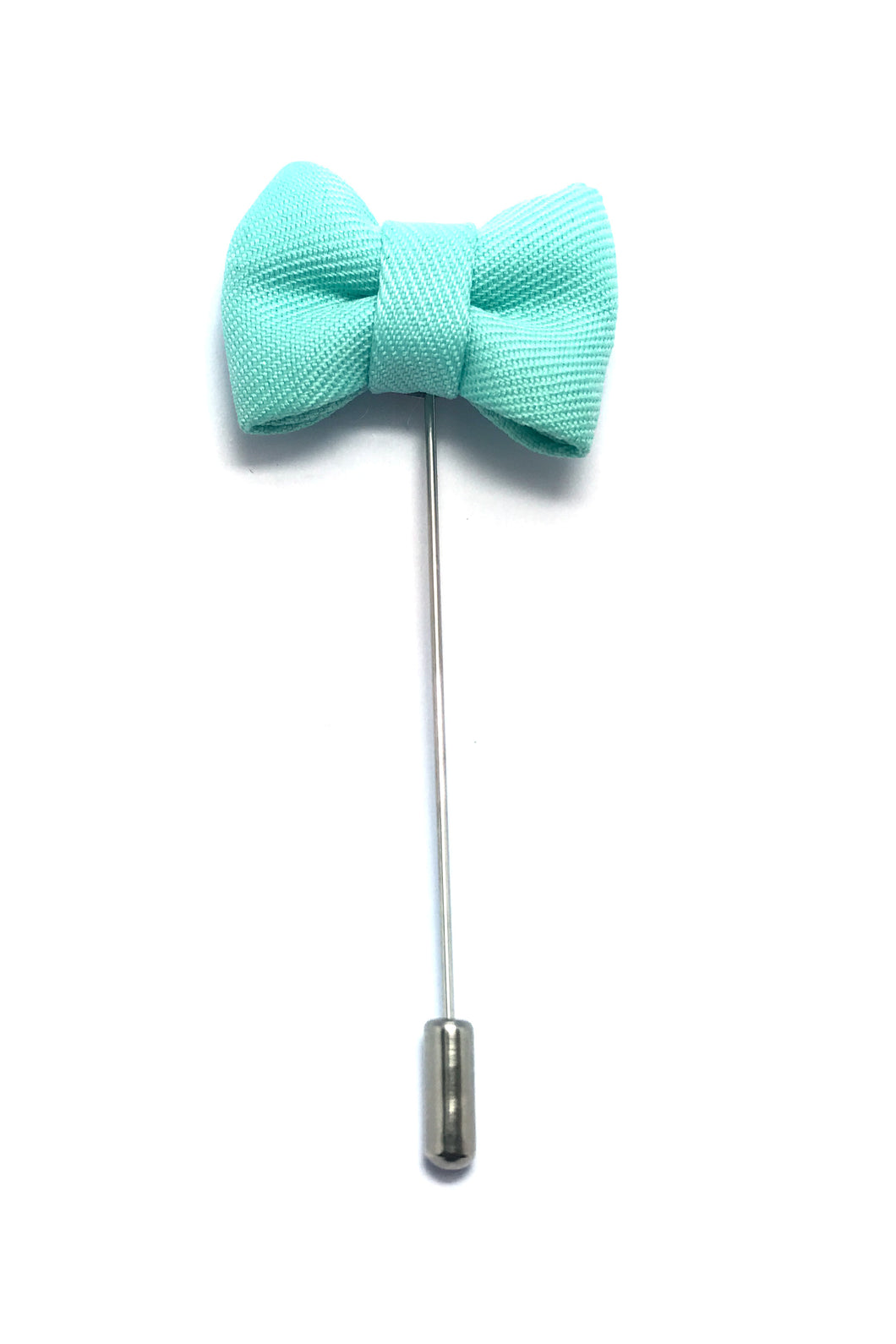 Lapel Pins - Seafoam Green Bow Tie