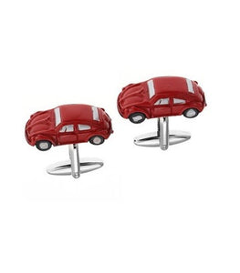 Cufflinks - Red Beetle