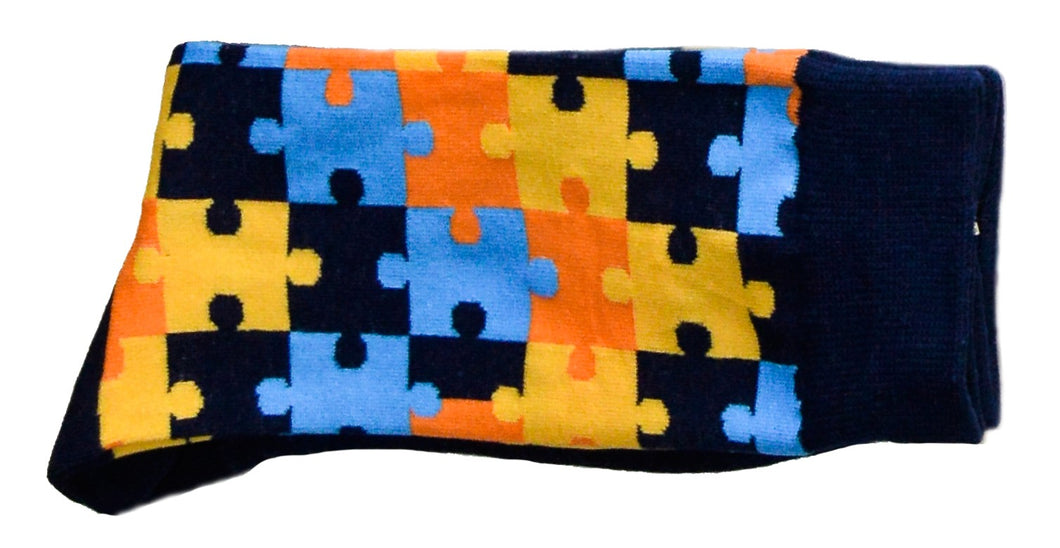 Sox - Navy Blue Puzzle