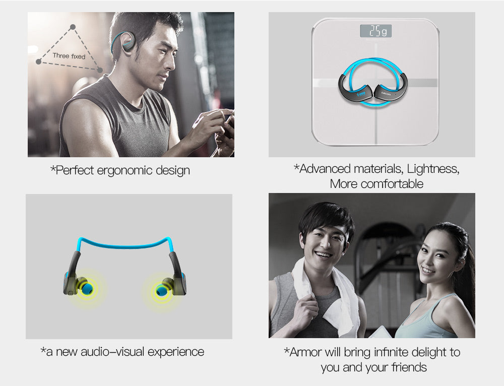 Dacom ARMOR Waterproof Sport Wireless Earphones