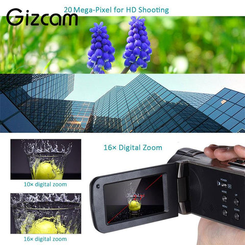 "Gizcam Mini 2.7"" Digital Camera"