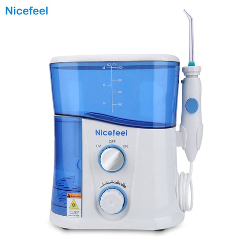 Nicefeel 1000ML Water Flosser Dental Oral Irrigator Dental Spa