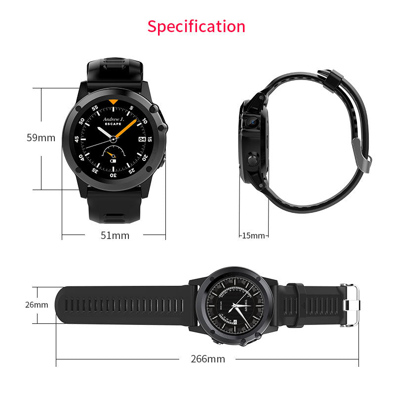 Microwear H1 Smart Watch Android 4.4 Waterproof
