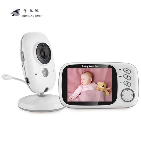 3.2 inch Wireless Video Color Baby Monitor High Resolution
