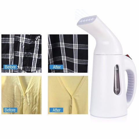 Mini Steam Iron Handheld Dry Cleaning Brush