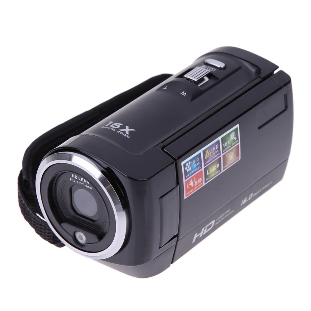 ALLOET Full HD AV 720P 16MP Automatic Digital Camera
