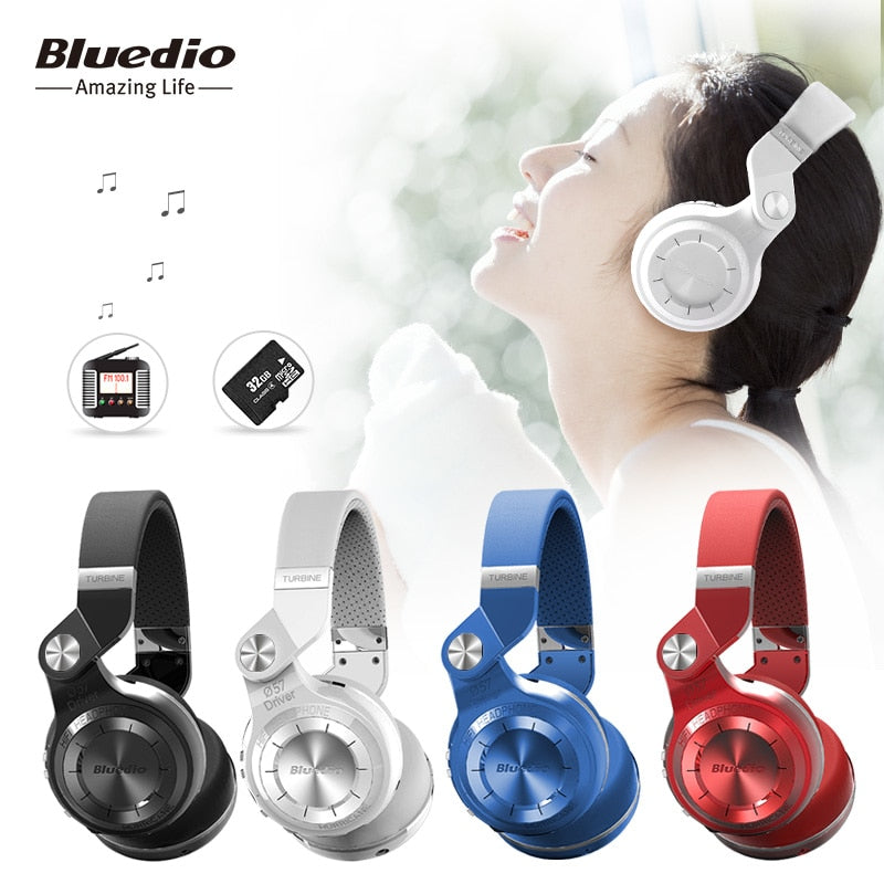Bluedio T2+ Bluetooth Headphone