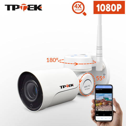 PTZ 1080P 2MP  IP Camera WiFi Waterproof Camera