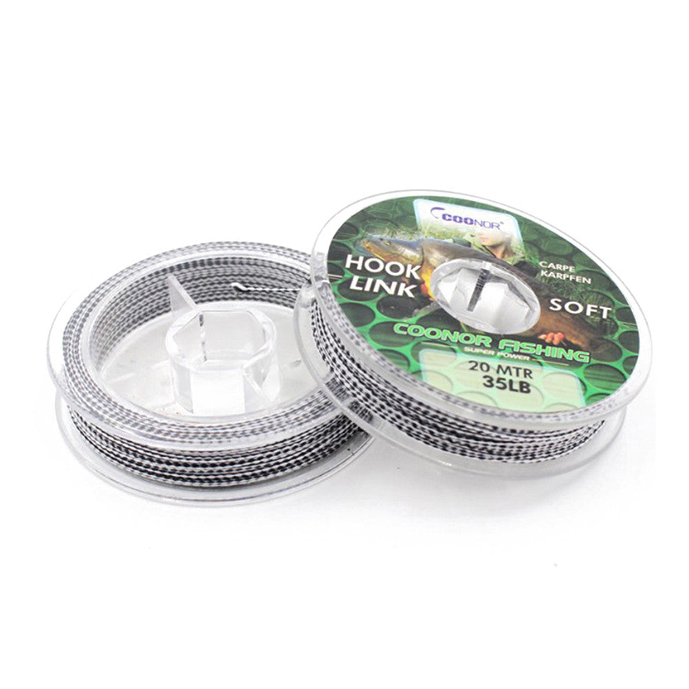20m Hook Fishing Line Braided Camouflage